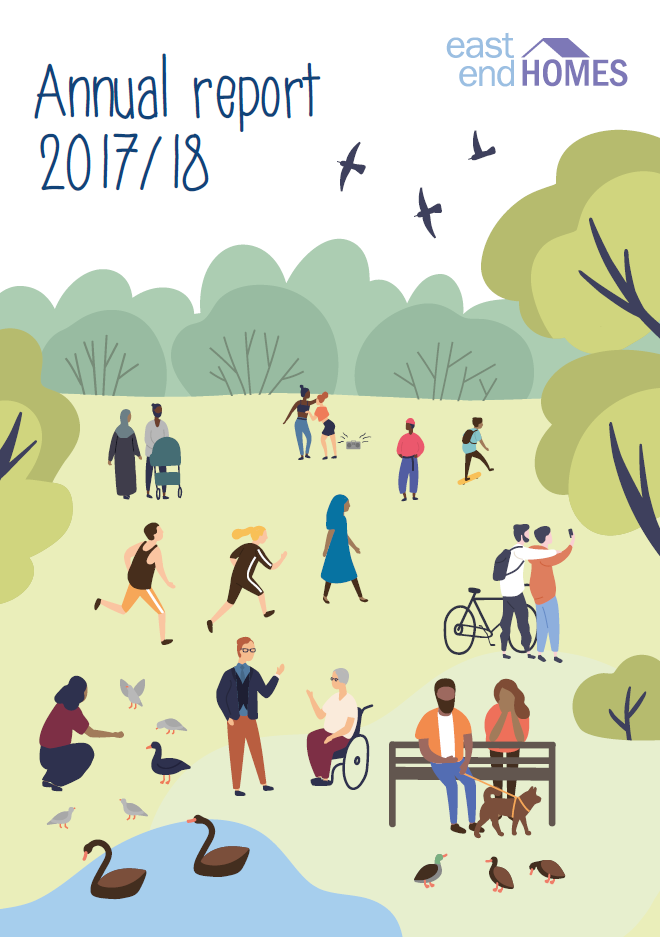 Cover Image of 2017/18 EEH Annual Report