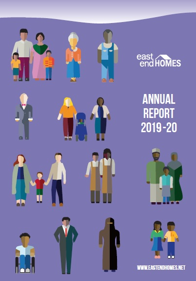 Cover of Annual Report for 2019-20