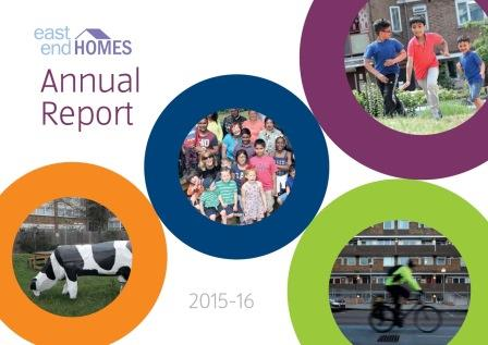 Cover of 2015/16 Annual Report